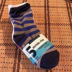 Toddler boy stride rite socks